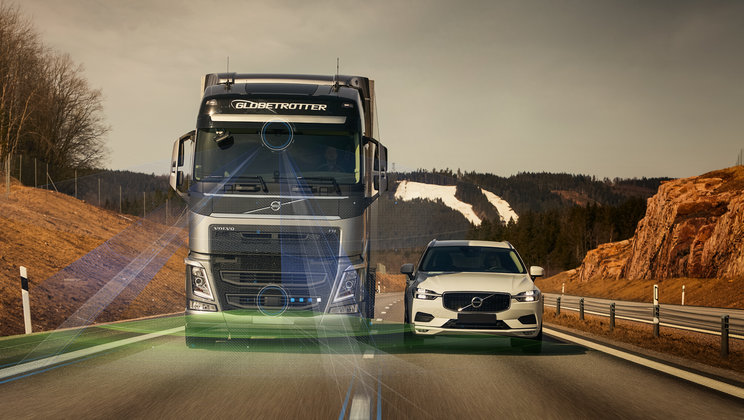 New Volvo Trucks support systems raise safety to a higher level