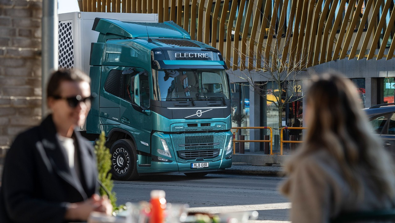 Volvo Trucks offer electric trucks with zero emissions.
