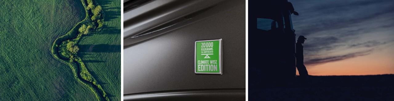 Kamioni Climate Wise Edition stvaraju manje emisije CO2.
